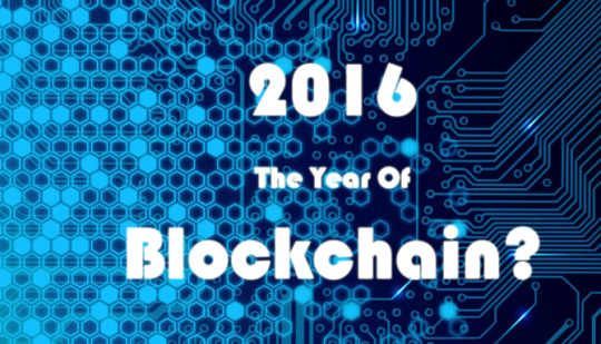 2016 - the year of blockchain